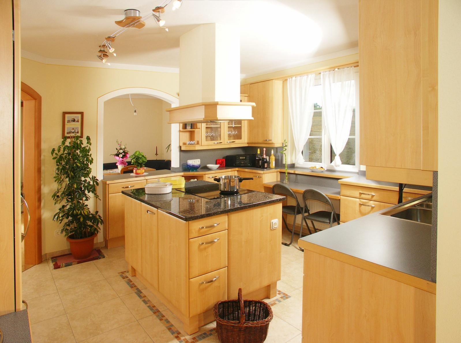 Ausgezeichnet Kücheninsel Aufnahme Bilder - Küchenschrank Ideen ...
