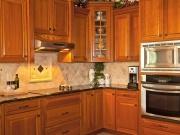 Echtholzeinbauküche im Landhausstil