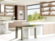 Offene G-Form Wohnküche