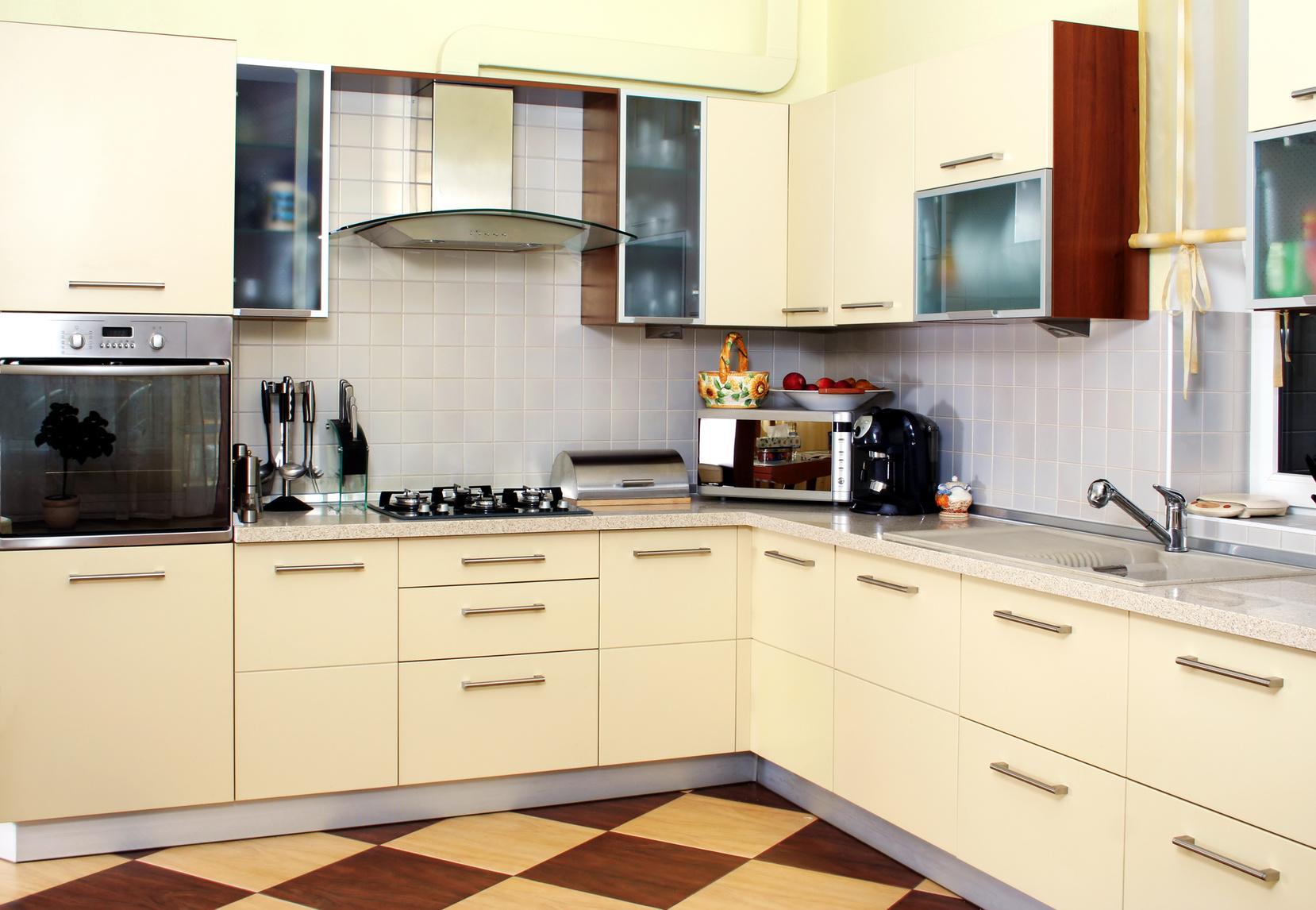 Nett Cremefarbenen Küchen Fotos Fotos - Ideen Für Die Küche ...
