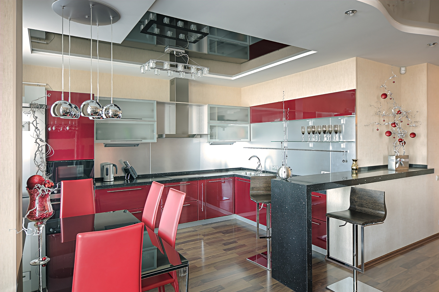red and green kitchen ideas die k 252 chengalerie auf k 252 chenliebhaber de 7664