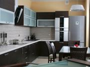 Stilvolle offene Wohnküche