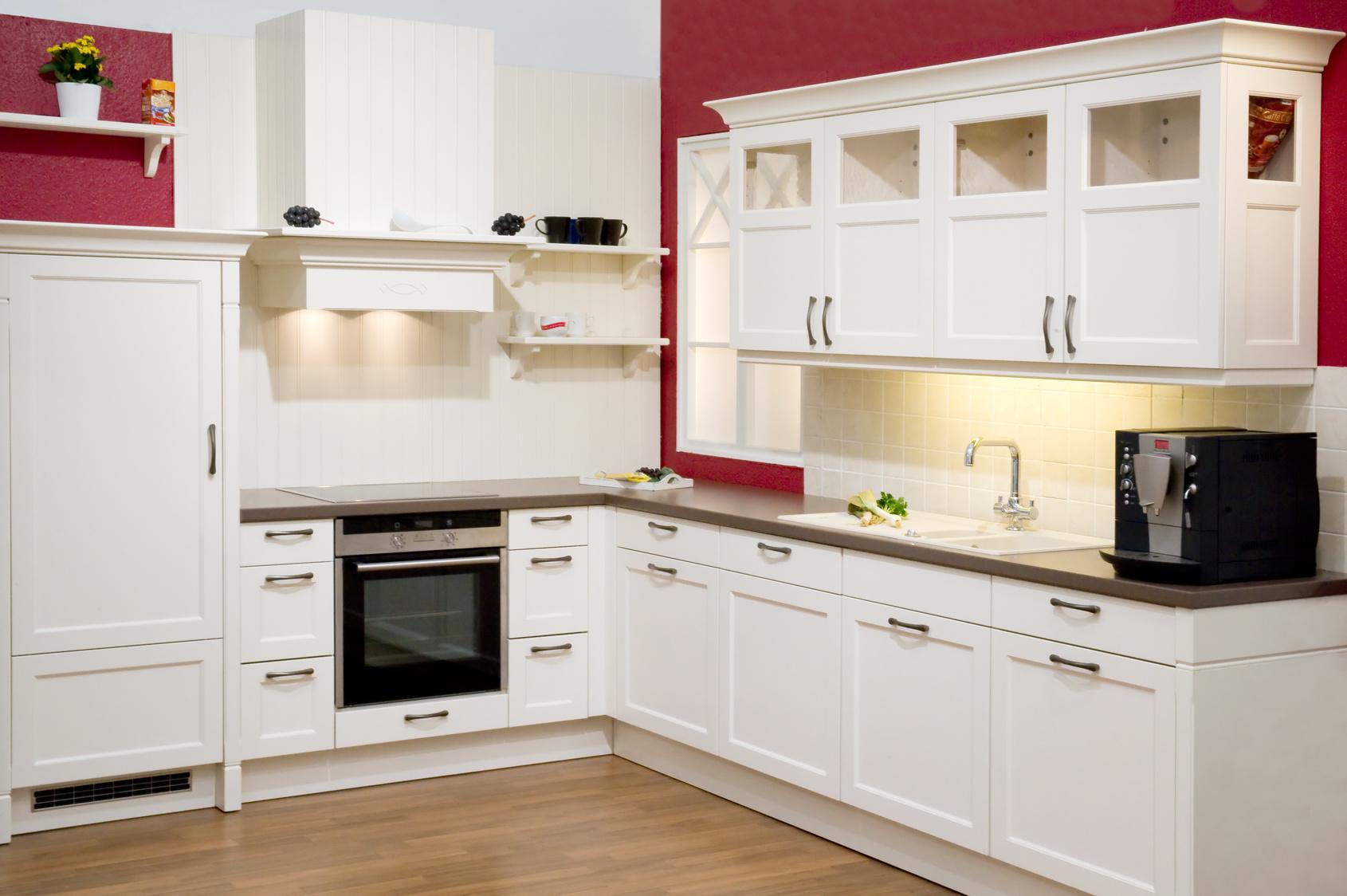 einbauk che pink. Black Bedroom Furniture Sets. Home Design Ideas