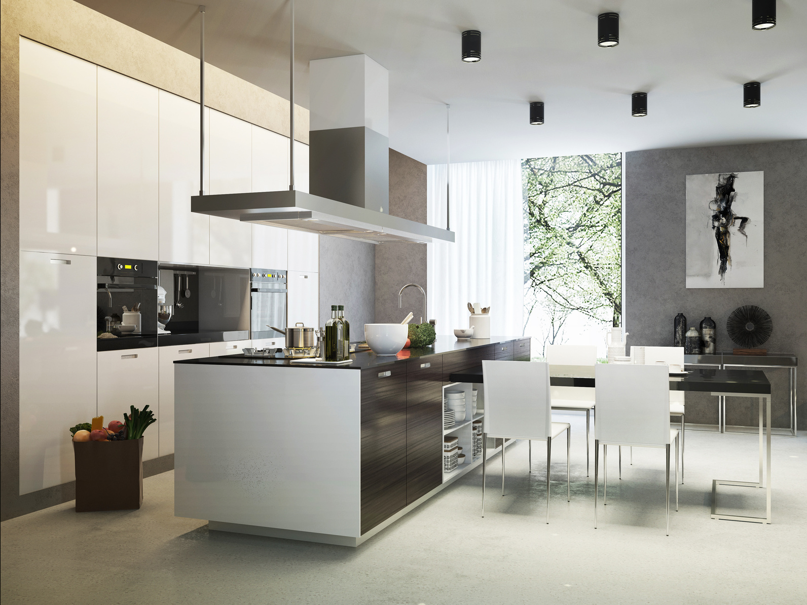Küchen In Holzoptik: Projekt