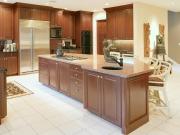Offene Wohnküche mit Kücheninsel