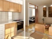 Klassische offene Wohnküche