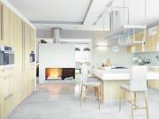 Moderne Luxuswohnküche