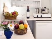 Kleine Singleküche in L-Form