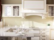 Klassische U-Formküche im Landhausstil