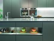Moderne Designerküche zweizeilig