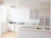 Stilvolle zweizeilige Küche