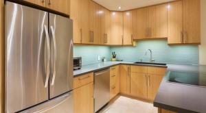 Einbauküche modern holz