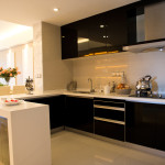 Küche dunkel hochglanz