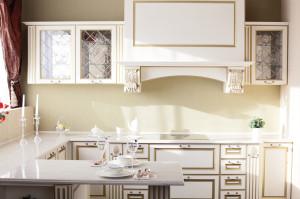 Küchen Halbinsel - französischer Landhausstil