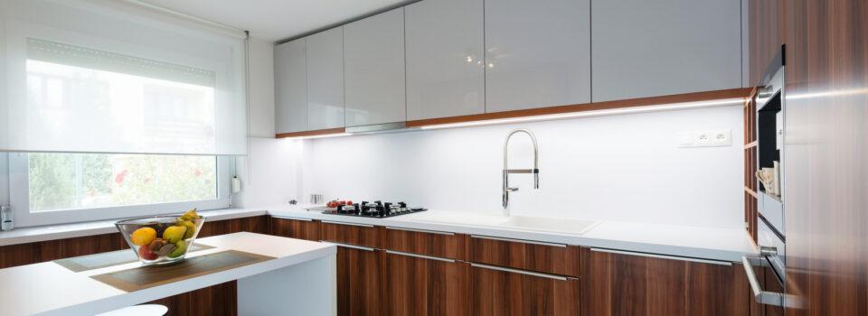 Die L-form Küche