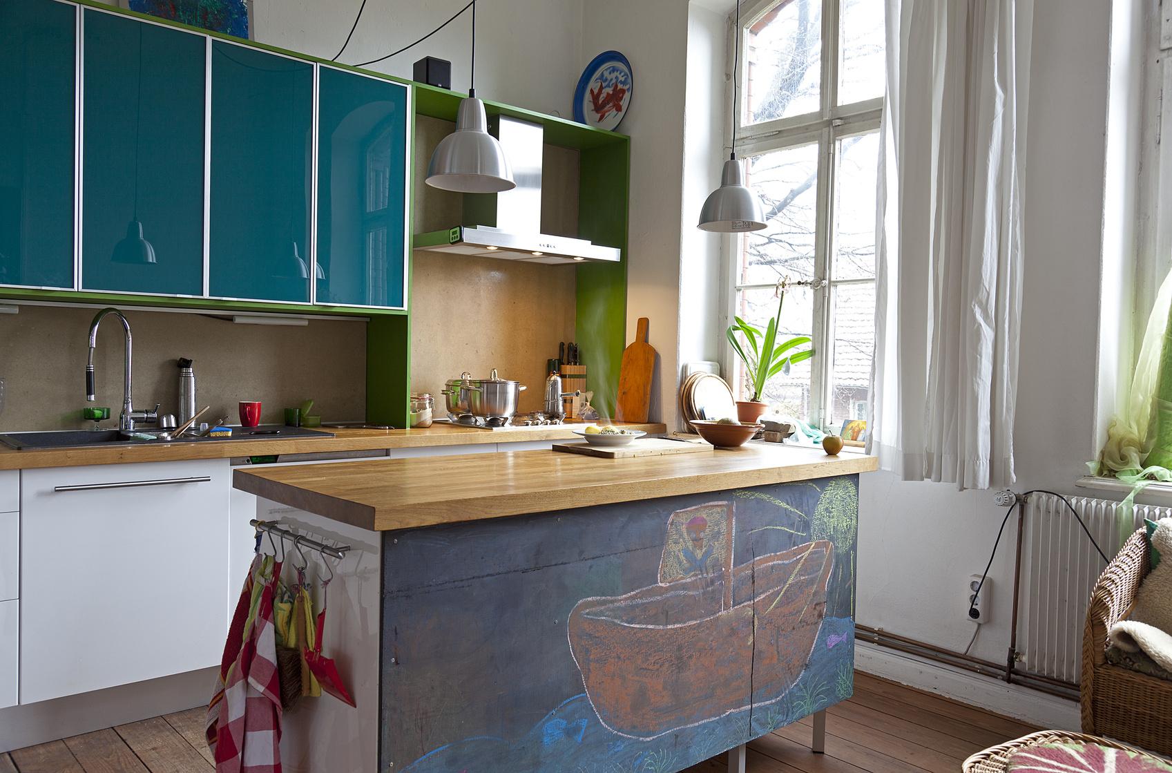 Die Kücheninsel - stilvolle Küchenform mit optischem Highlight | {Kücheninsel landhausstil 91}