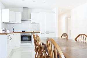 L-Form Küche klassisch