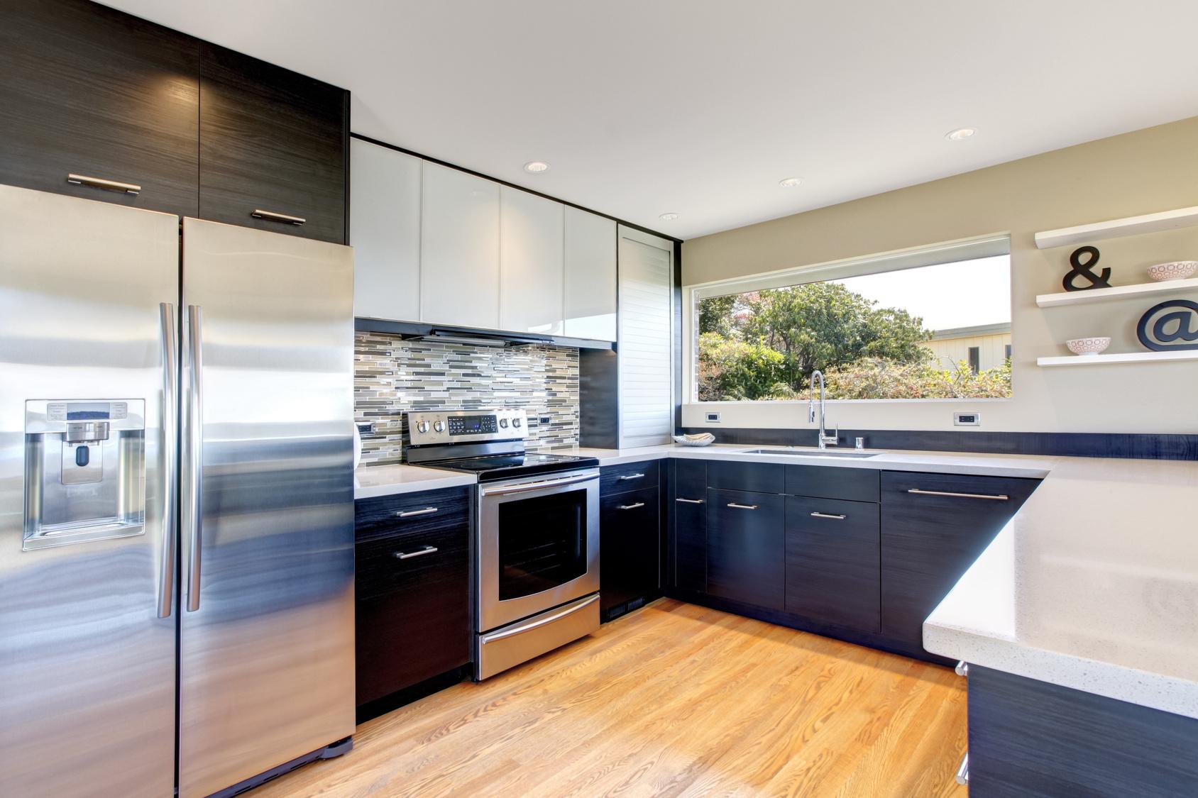 Die U-form Küche - klassische Küchenform mit modernem Stil