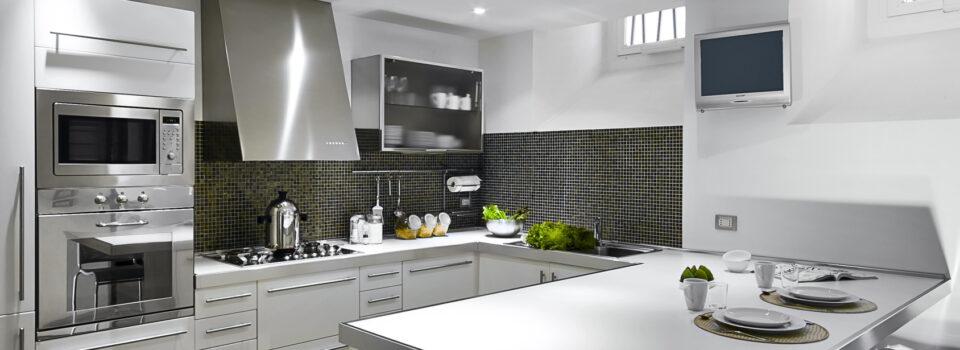 Die U-form Küche