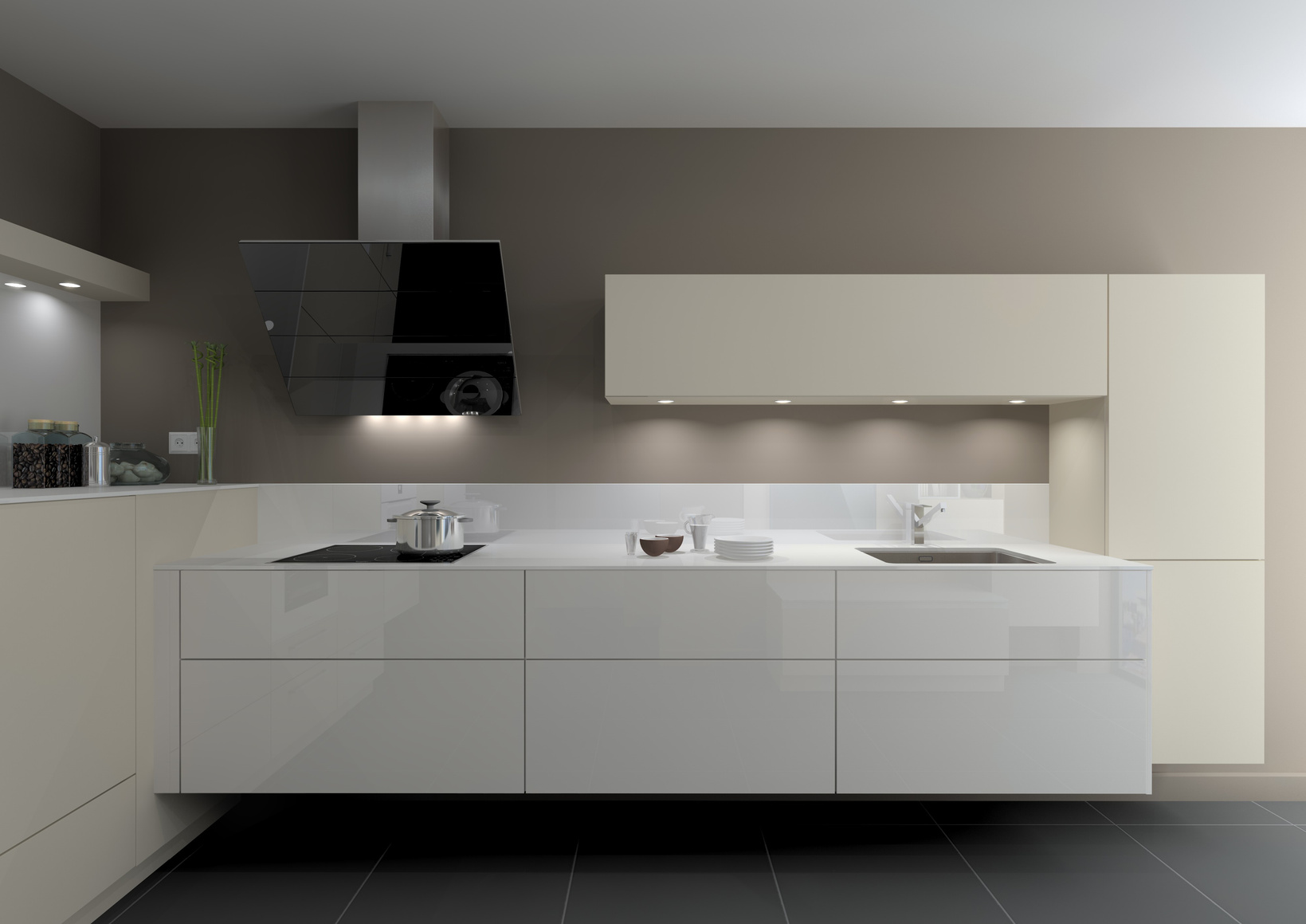 Die einzeilige Küche - klassische Küchenform mit Highlights