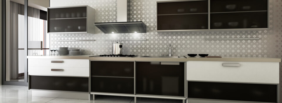 Die einzeilige Küche