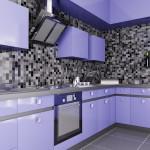 farbige Winkelküche