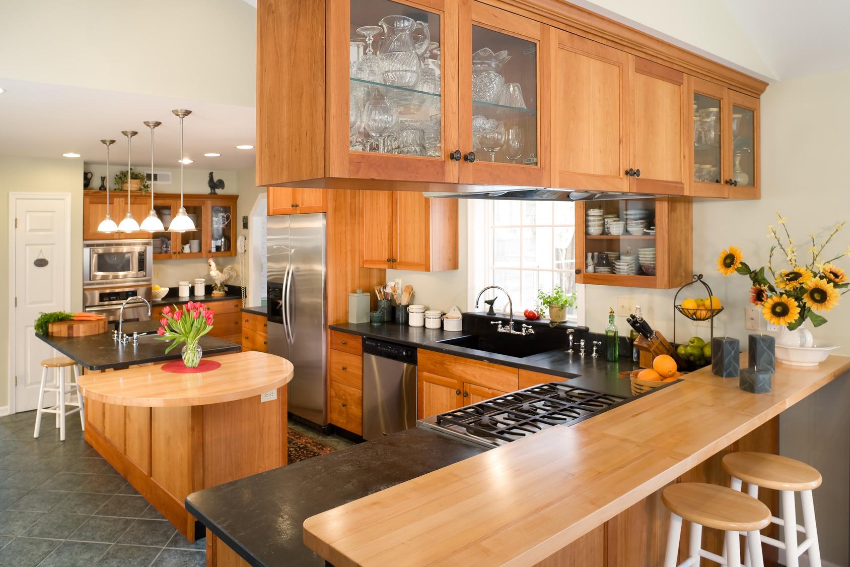Die G-form Küche eine klassische Küchengrundform