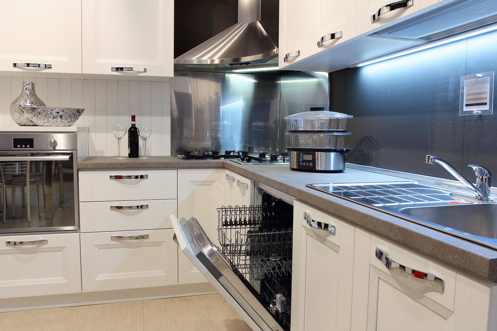 Küchen l form mit fenster  Die G-form Küche eine klassische Küchengrundform