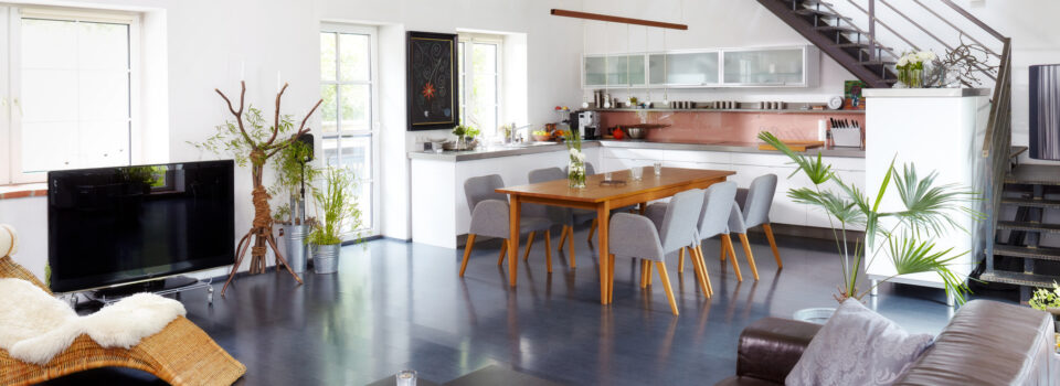Die offene Küche / Wohnküche