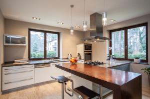 Travertine house- Kitchen