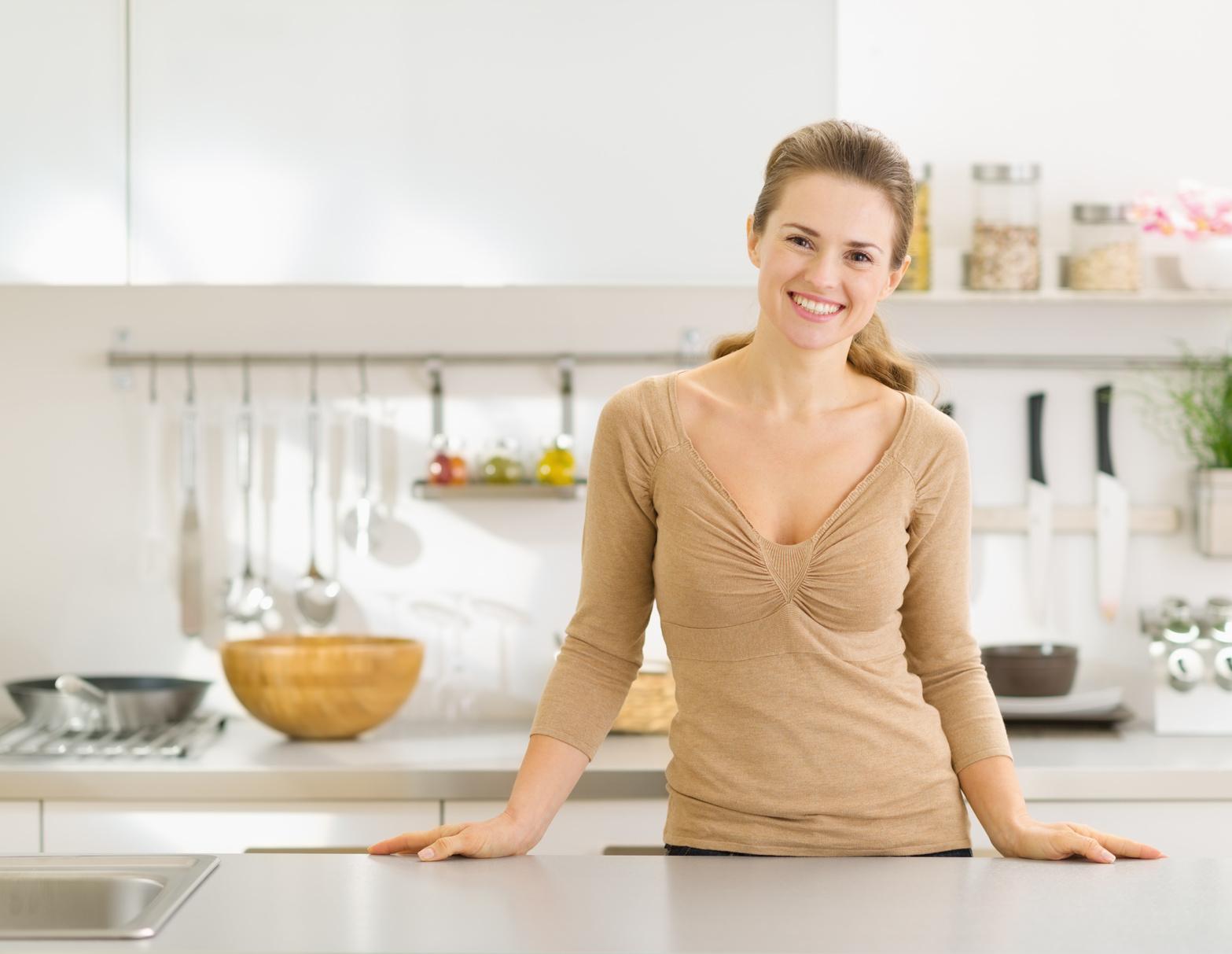 Die richtige Höhe der Küchenzeile