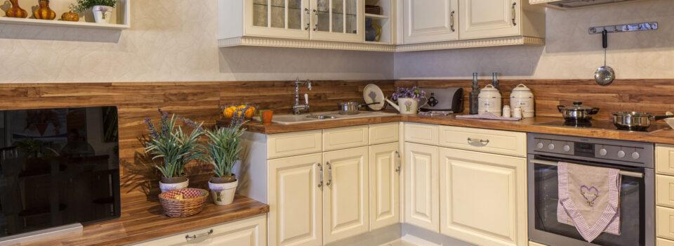 Die rustikale Küche