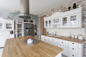 Einbauküche weiss landhausstil  Die Küche im Landhausstil