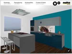 Küchen von Nolte Online planen
