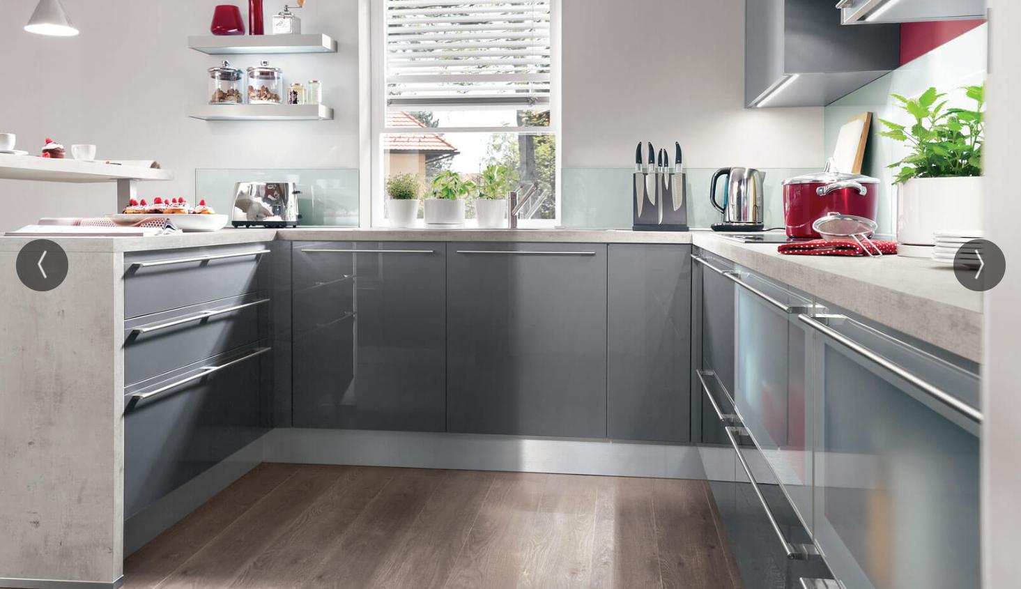 Kiveda, Model IMMOSA, Praktische Küche Im U Format
