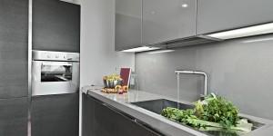 Kleine Küchenformen als Basis für die Traumküche
